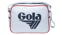 Gola Redford Unisex Bag White And Red