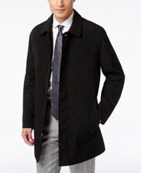 Kenneth Cole New York Revere Raincoat Black