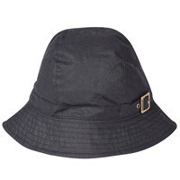 Barbour Wax Trench Hat Black