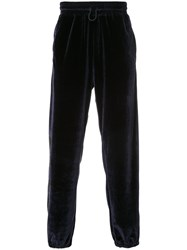 Golden Goose Deluxe Brand Drawstring Waist Track Pants Polyester Triacetate L Blue