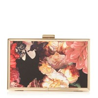 Head Over Heels Banito Floral Box Clutch Multi Coloured