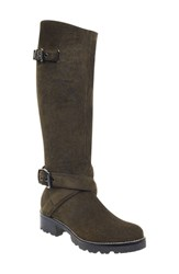 Marc Fisher Ltd Misty Knee High Boot Olive Suede