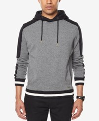 Sean John Men's Pullover Hoodie Medium Grey