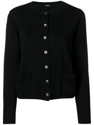 Aspesi Slim Fit Cardigan Black