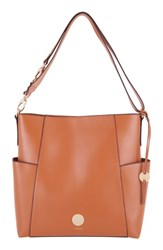 Lodis Rodeo Under Lock And Key Jessie Rfid Leather Bucket Bag Brown Toffee