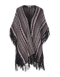 Bruno Manetti Capes And Ponchos Deep Purple