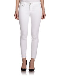 Vince Dylan Skinny Jeans Optic White