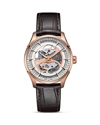Hamilton Jazzmaster Viewmatic Skeleton Automatic Watch 40Mm White Brown