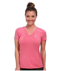 Salomon Park Tee Hot Pink Women's T Shirt