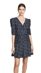 Rebecca Taylor La Vie Long Sleeve Firefly Dress Black Combo