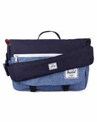Herschel Navy And Blue Pop Quiz Messenger Bag