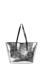 Kendall Kylie Izzy Tote Silver