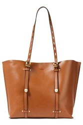 Rag And Bone Woman Field Studded Leather Tote Camel