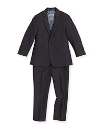 Appaman Boys' Two Piece Mod Suit Vintage Black 2T 14