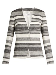 Max Mara Tommy Jacket Black White