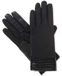 Isotoner Signature Smartouch Stretch Tech Gloves Black