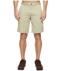 The North Face Narrows Shorts Granite Bluff Tan Men's Shorts White