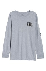 O'neill Packed Graphic T Shirt Heather Grey
