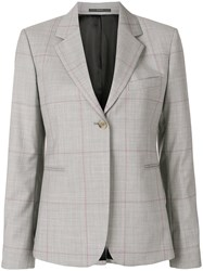 Paul Smith Classic Single Breasted Blazer Grey