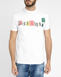 Dsquared White Sexy Fit Ranson Pocket T Shirt