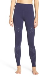 Under Armour Women's 'Mirror Hi Rise Luminous' Leggings Midnight Navy Faded Ink