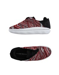 Clear Weather Sneakers Red