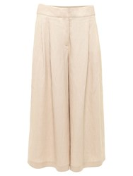 Urban Touch Pocket Detail Culottes Beige