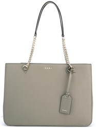 Dkny Chain Handle Tote Nude Neutrals