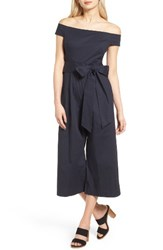 Chelsea 28 Women's Chelsea28 Off The Shoulder Culotte Jumpsuit