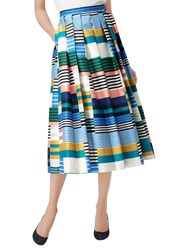 Lk Bennett L.K. Tippi Full Skirt Multi