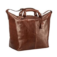Maxwell Scott Bags Handcrafted Luxury Tan Leather Travel Bag