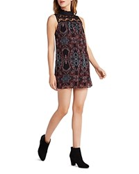 Bcbgeneration Paisley Print A Line Romper Apple Multi