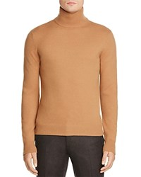 Hardy Amies Roll Neck Sweater 100 Bloomingdale's Exclusive Camel