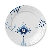 Royal Copenhagen Blue Fluted Mega Plate 27Cm