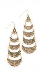 Adia Kibur Penelope Earrings Antique Gold