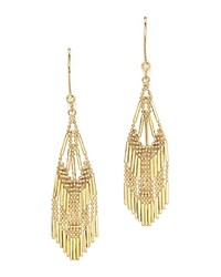 Bloomingdale's 14K Yellow Gold Beaded Dangle Earrings