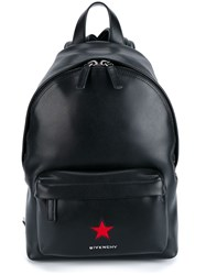 Givenchy Star Patch Backpack Red