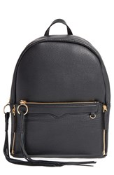 Rebecca Minkoff 'Lola' Backpack With Detachable Crossbody Black Black Light Gold Hrdwr