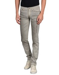 Dandg Denim Denim Trousers Men Grey