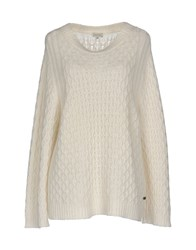 Henry Cotton's Sweaters White