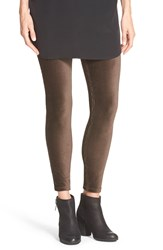 Hue Cotton Blend Corduroy Leggings French Roast
