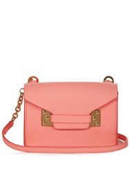 Sophie Hulme Milner Nano Envelope Leather Cross Body Bag Pink