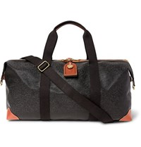 Mulberry Medium Clipper Pebble Grain Leather Holdall Black