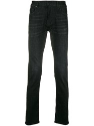 7 For All Mankind Slim Jeans Black