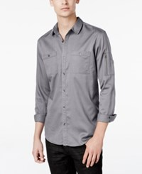 Inc International Concepts Men's Claudius Long Sleeve Shirt Only At Macy's Silverback