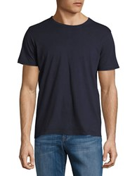 Brooks Brothers Short Sleeved Pullover Tee Navy