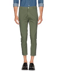 26.7 Twentysixseven Trousers Casual Trousers Military Green
