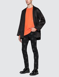 Ambush Wide Piping Sweatshirt Orange