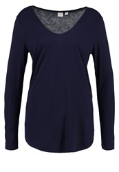 Gap Long Sleeved Top Navy Uniform Dark Blue