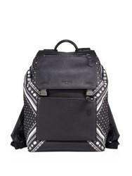 Coach Pebble Leather Backpack Black